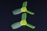 Emax Babyhawk 87mm replacement T2345 Propeller 10x CW and 10x CCW - YELLOW