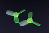 Emax Babyhawk 87mm replacement T2345 Propeller 10x CW and 10x CCW - GREEN