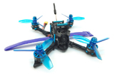 HGLRC Little Blue XJB-145MM FPV Racing Drone PNP Omnibus F4 28A 2-4S Blheli_S ESC, Switchable VTX