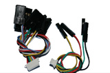 KingKong 90GT replacement UART 4-pin and PPM 9pin cables